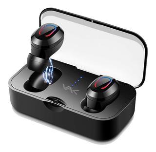 Audifonos Vak 18 Bluetooth Base De Carga Manos Libres Tws