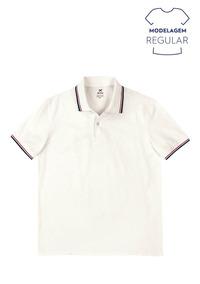 40d0186072 Camisa Polo Masculina Básica Regular Em Algodão Hering 3m11