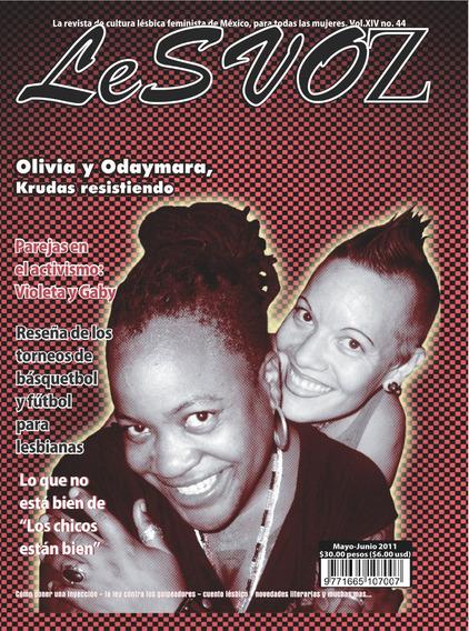 Revista Lesvoz #44, 2011, Cultura Lésbica Feminista