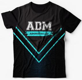 Camiseta Turma De Administração - Faculdade