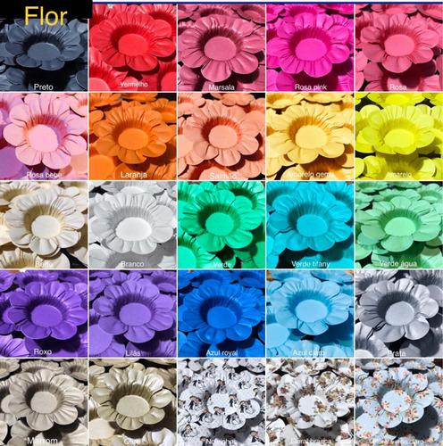 Imagem 1 de 10 de Kit 50 Forminhas Para Doces Casamento Aniversario Mod.flor