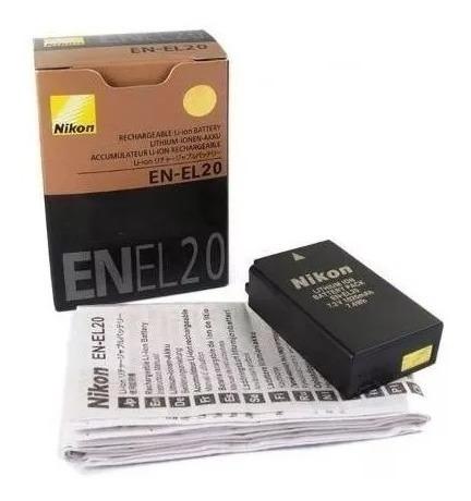 Bateria En-el20 Para Nikon 1 Aw1, S1, J3, J2, J1.gratis