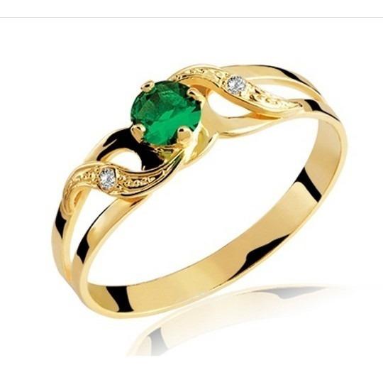 Anel De Formatura Ouro Amarelo 18k (pedra/diamantes Naturai