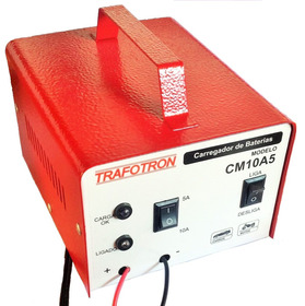 Carregador Portatil Para Baterias 12v 10ah Frete Gratis