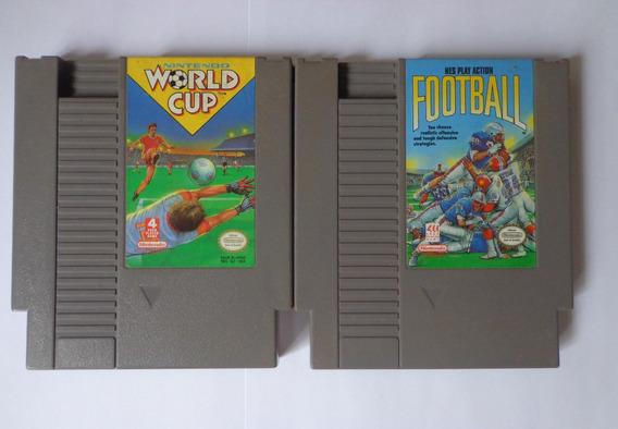 Nintendo World Cup + Nes Football - Originais