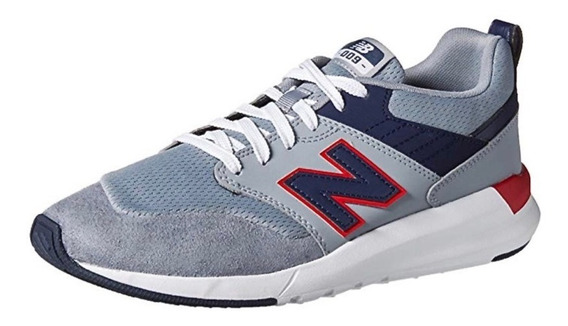 Tenis Retro New Balance Textil-piel Azul-gris # 7