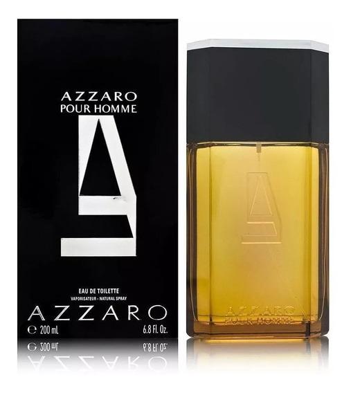 Perfume Azzaro Pour Homme 200ml Masculino   Adipec