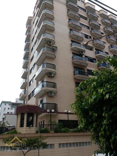 Imagem 1 de 11 de Apartamento Com 1 Dormitório À Venda, 45 M² Por R$ 190.000,00 - Ocian - Praia Grande/sp - Ap2573