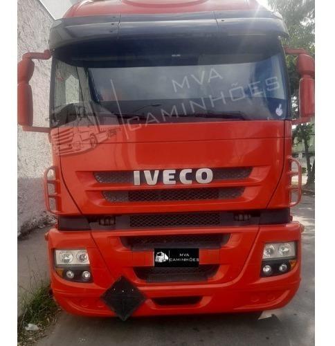 Caminhão Iveco Strallis 380 Teto Alto - 6x2 T
