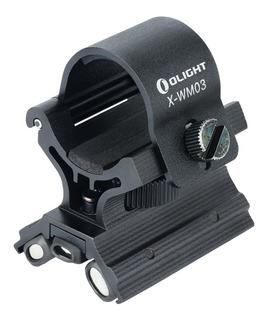 Montura Magnética Olight Para Linterna Uso Cacería, Policía.