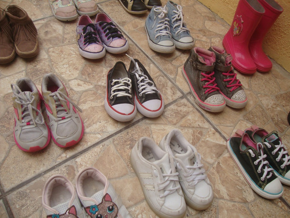 Calçado N 27 Menina Infantil Tenis