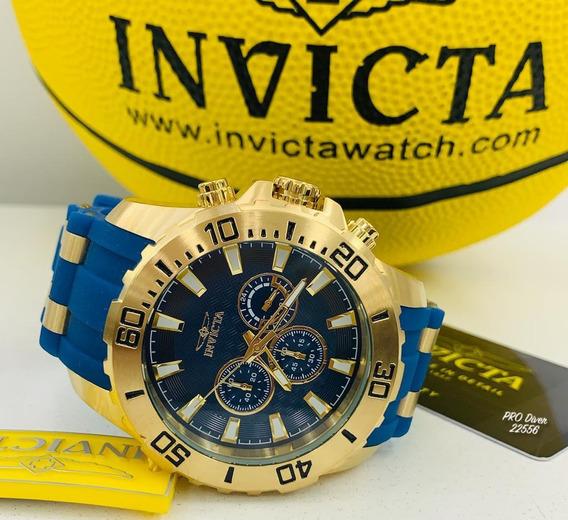 Relógio Invicta Pro Diver 22556 - Ouro 18k