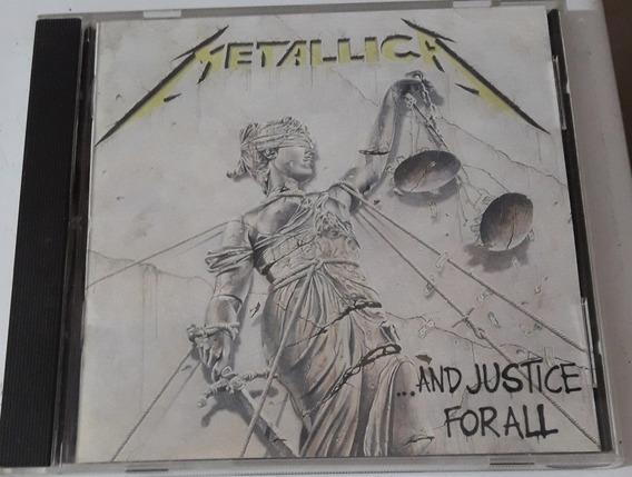 Metallica - And Justice For All ( Cd Germany ) Vertigo