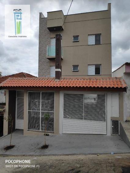 Cobertura Com 2 Dormitórios À Venda, 102 M² Por R$ 360.000 - Parque Das Nações - Santo André/sp - Co0005
