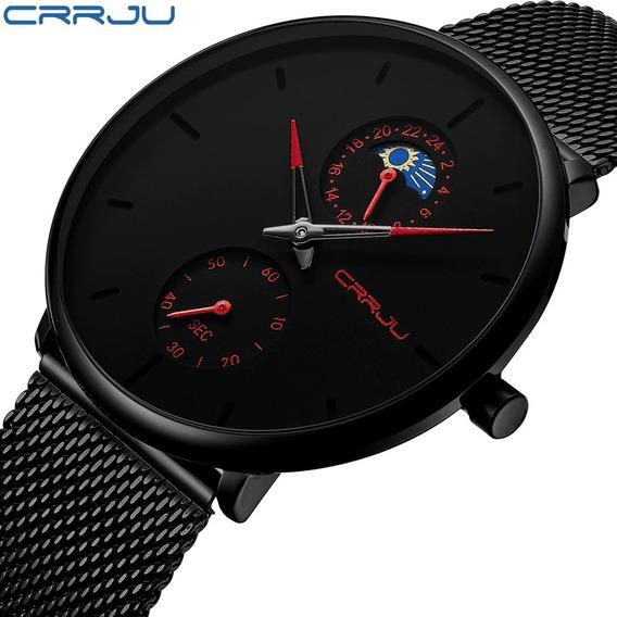 Promoção Relógio Crrju 2263, Melhor Qualidade Do Mercado !!