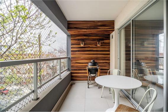 Departamento Piso Venta Nuñez 2 Ambientes Con Balcon Terraza
