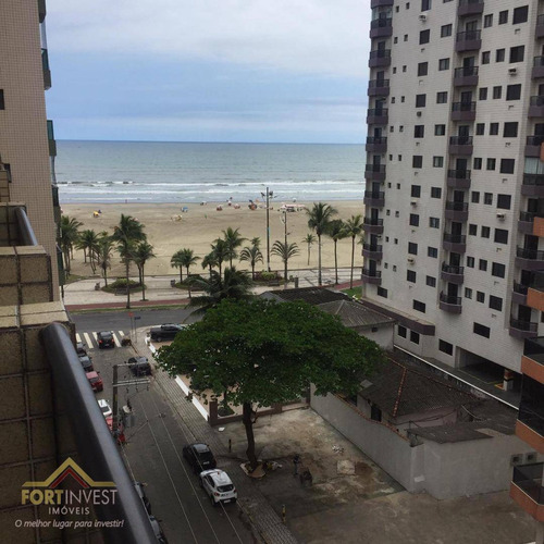 Imagem 1 de 27 de Apartamento Com 1 Dormitório À Venda, 43 M² Por R$ 180.000 - Aviação - Praia Grande/sp - Ap2491