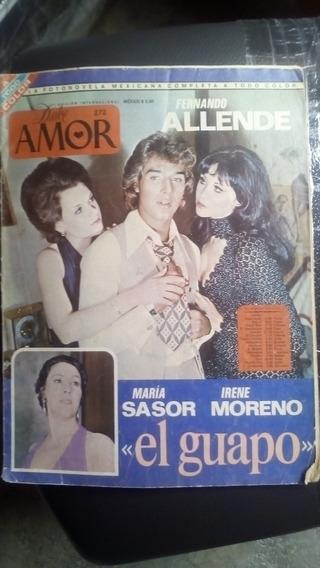 Maria Sasor Y Fernando Allende En Fotonovela Dulce Amor