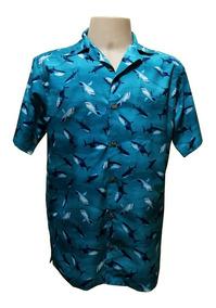 Camisa Masculina Hawaiana 0226 (verifique Medidas!!)