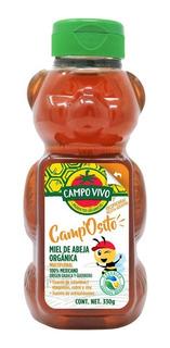 Miel De Abeja Orgánica Camposito De Campo Vivo 330gr