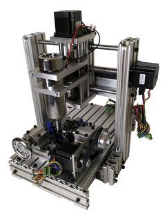 Cnc Router Com Motores 4 Eixos Trabalha Metais Se 3020