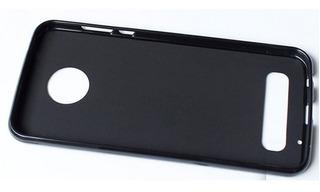 Moto Z2 Play - Protector Black Stealth Case