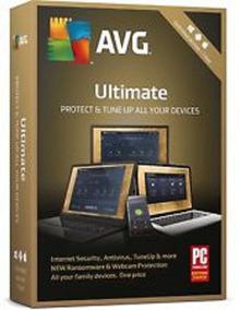 Avg Ultimate 1 Ano Ilimitados Dispositivos .. Leia!