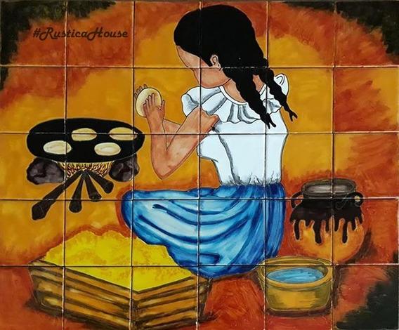 Mural De Talavera - Tortillera