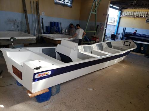 Barco Bote Fibra Pesca 7,30 Mt Console Artsol 40 Anos Fabric