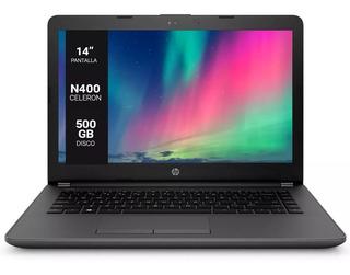 Notebook Hp Cele N4000 Intel 240 G6 3xu15lt 8gb 500gb Wind10