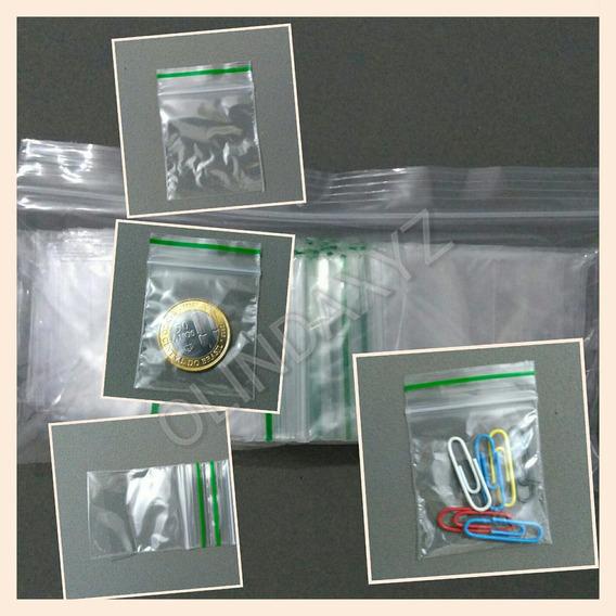 Kit Com Mil 1.000 Saquinhos Para Moedas Ziplock - Com Ziper