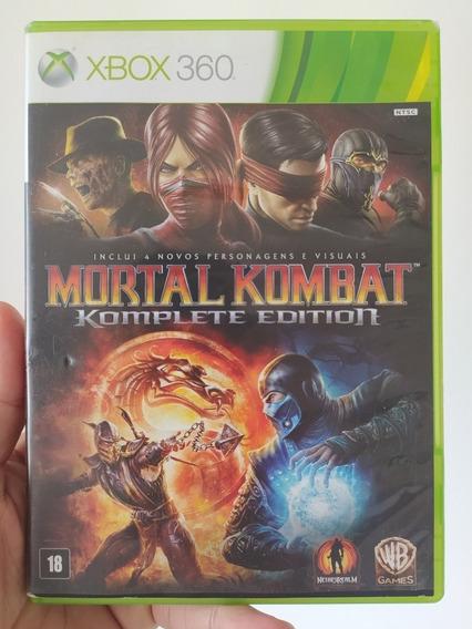 Mortal Kombat Komplete Edition Original M. Física Xbox 360