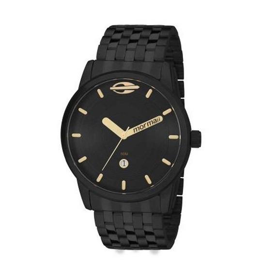Relógio Mormaii Masculino Esportivo Preto Mo2115aa/4p