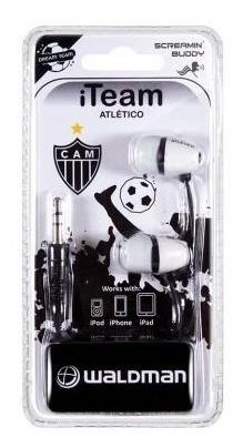 Fone De Ouvido Waldman Sb10 Time In-ear Atletico Mineiro