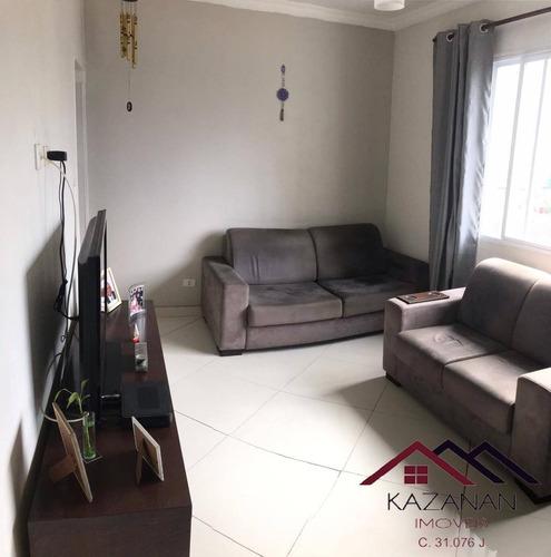 Imagem 1 de 15 de Apartamento 02 Dormitórios Na Vila Mathias - Santos - 5234