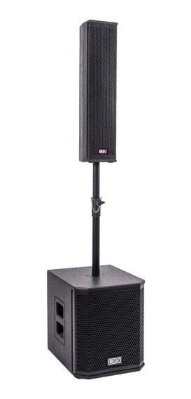 Caixa Som Coluna Torre Sub Ativa Vertical 600w Usb Tipo Jbl