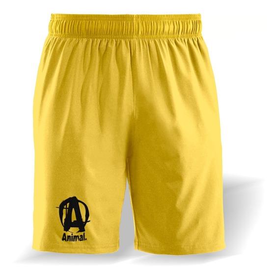 Pantalon Corto Microfibra Entrenar Gimnasio Crossfit Genetic