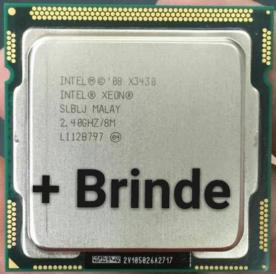 Processador Core I7 870 = X3430 2,8ghz 1156 + Pasta Térmica