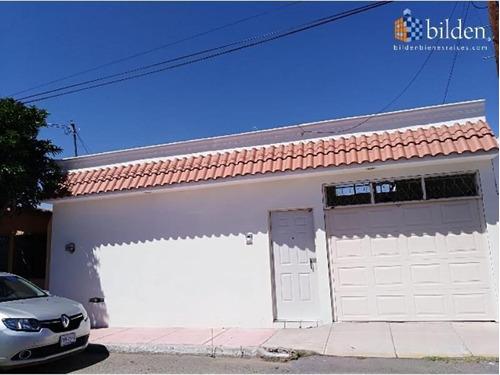 Imagen 1 de 12 de Casa Sola En Venta Fracc. Jardines De Durango