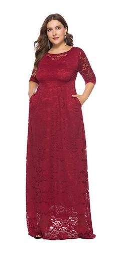 Vestido De Fiesta Rojo Asirenado Sat N Talla M O 7 Stretch Ropa Bolsas Y Calzado En Mercado Libre Mexico