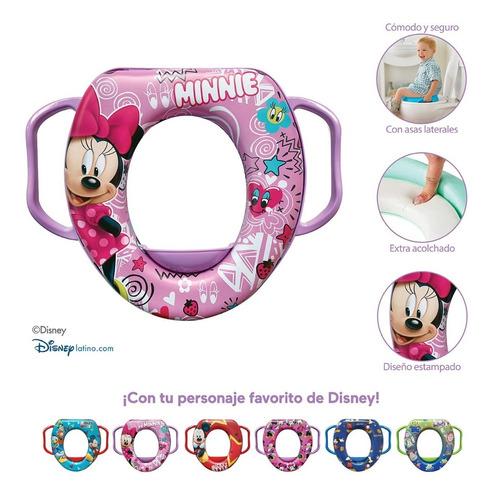 Imagen 1 de 5 de Entrenador De Baño Para Bebé Minnie Disney Priori