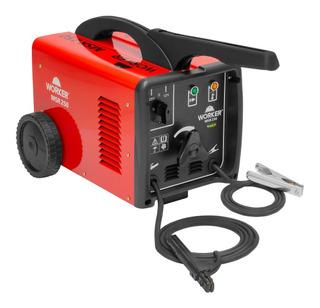 Solda Elétrica 250 Amperes Bivolt Serralheria Worker Sw4