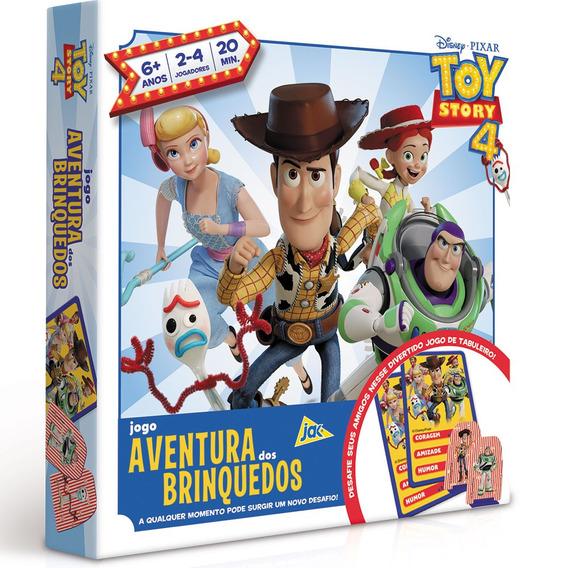 Jogo De Tabuleiro - Aventura Dos Brinquedos - Toy Story 4 -