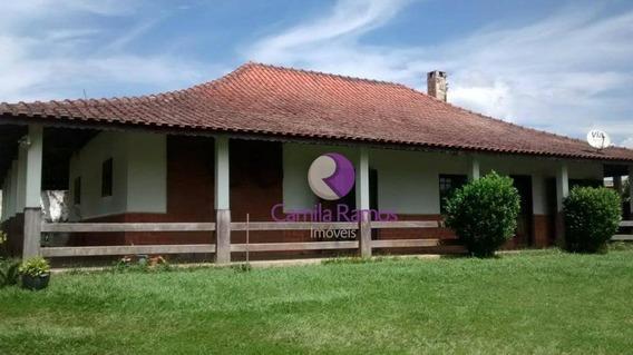 Chácara Com 3 Dormitórios À Venda, 900 M² - Recreio Santa Rita - Suzano/sp - Ch0050
