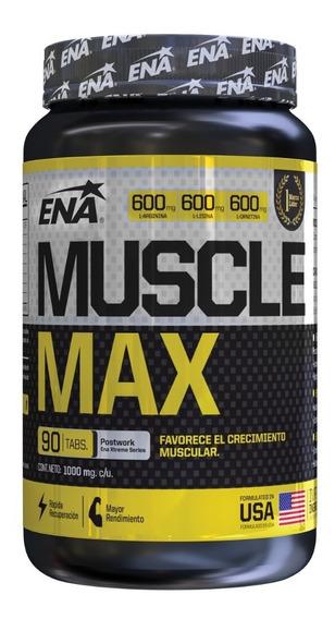 Ena Sport Muscle Max Oxido Nítrico Arginina Ornitina Lisina