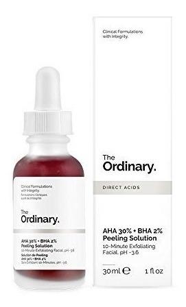 The Ordinary Aha 30% + Bha 2% Peeling Solution Pronta Entreg
