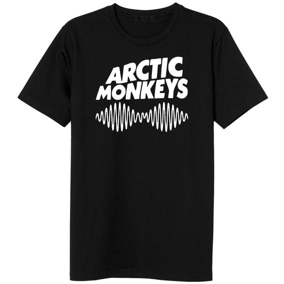 Camiseta Arctic Monkeys Camisa Masculina Banda Rock