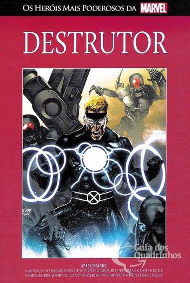 Salvat Heróis Mais Poderosos Da Marvel N° 33 - Destrutor