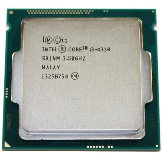 Processador Core I3-4330 4ª Geração 3.5ghz 4mb 1150 - O&m