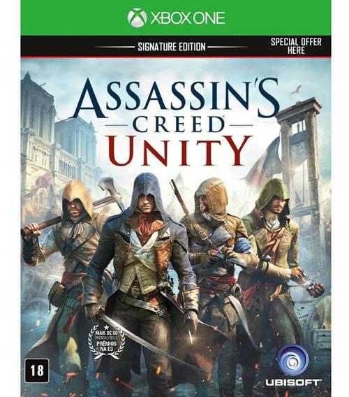 Assassins Creed Unity Xbox One Mídia Física Português Brasil